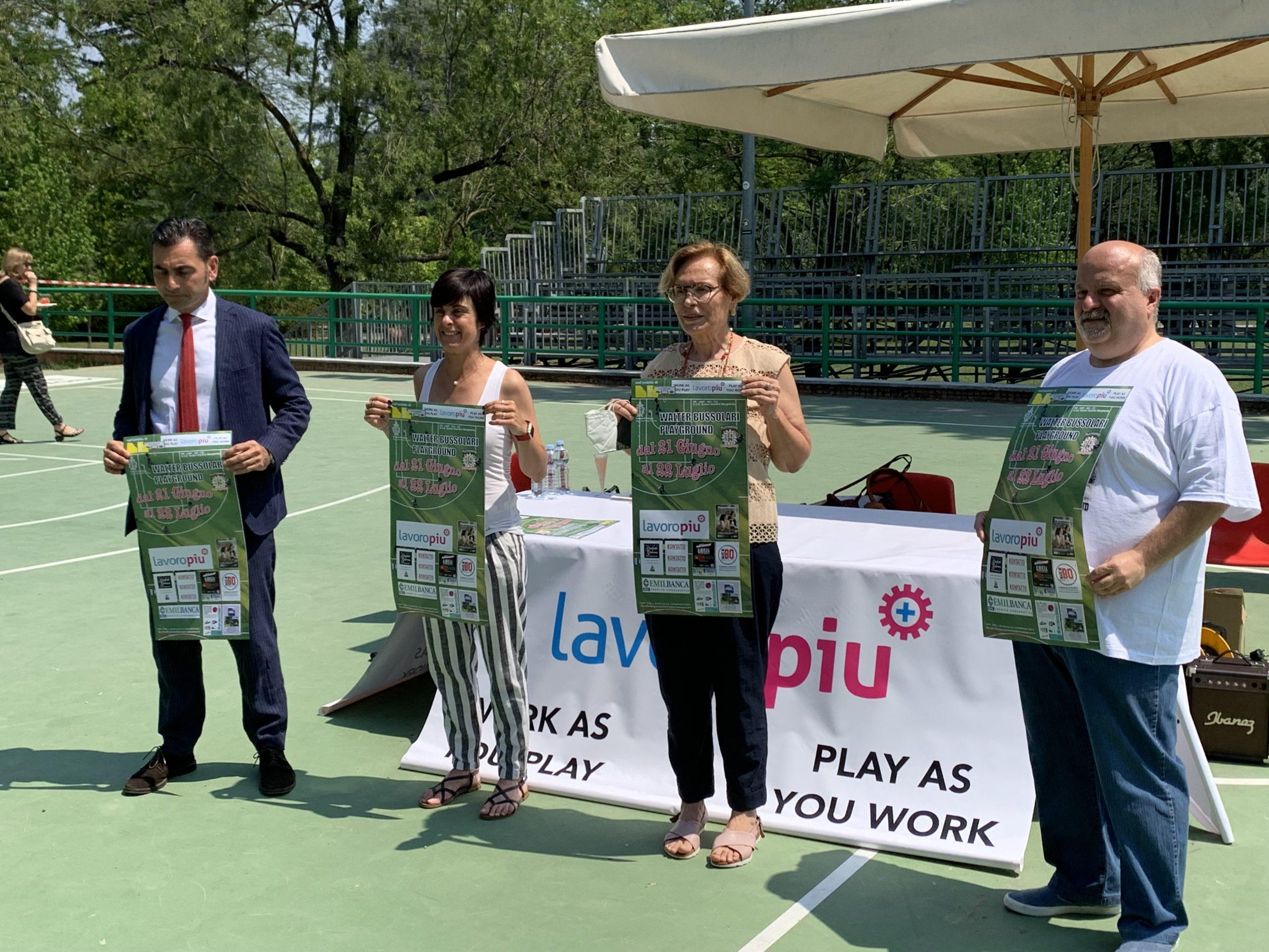 Lunedì si parte con la 39esima edizione del torneo:  Walter Bussolari Playground.